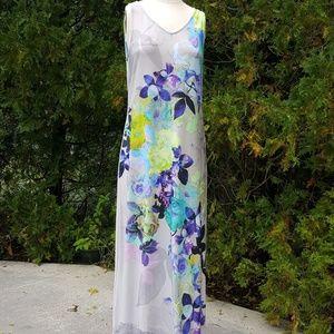 Sleeveless Maxi Dress M